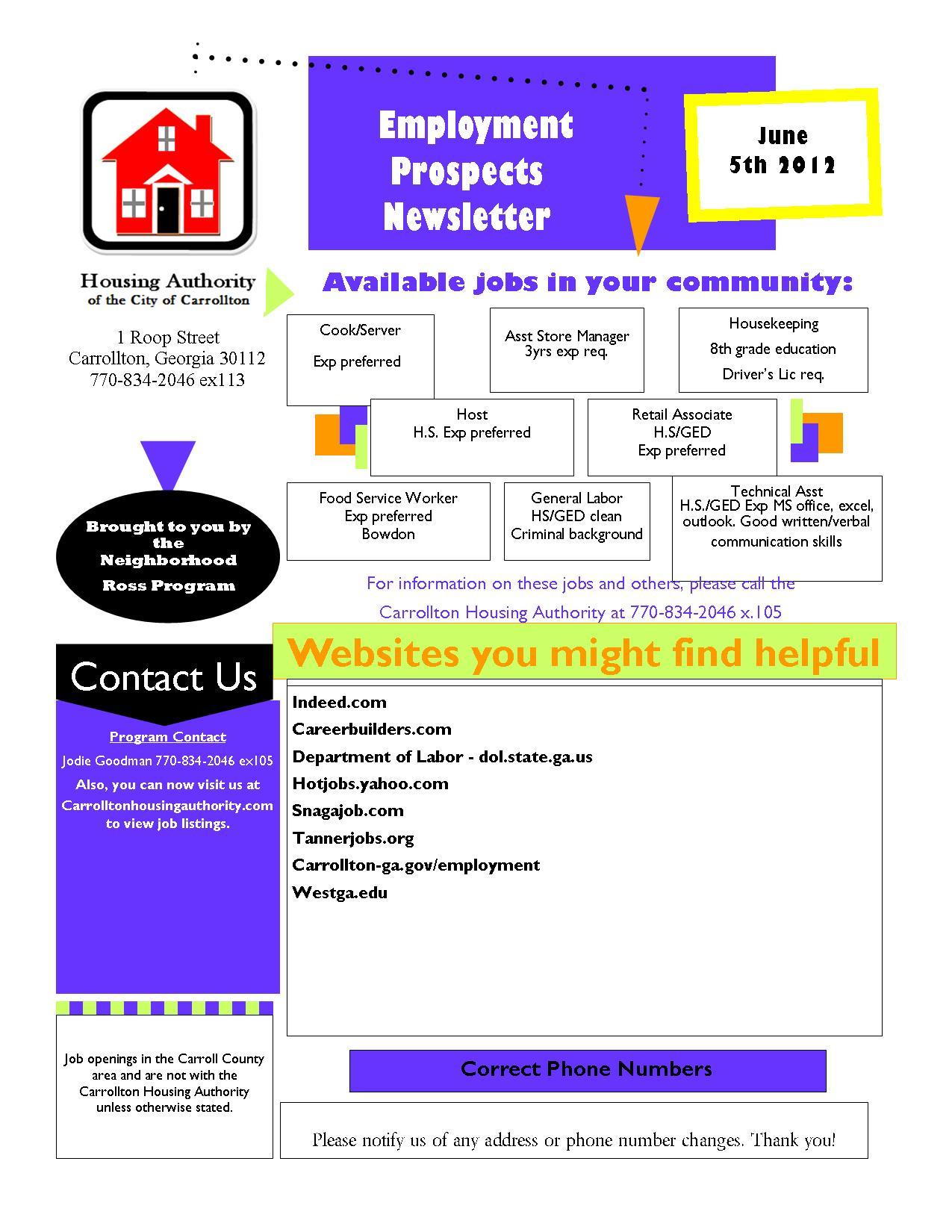 employment prospects com employment websites