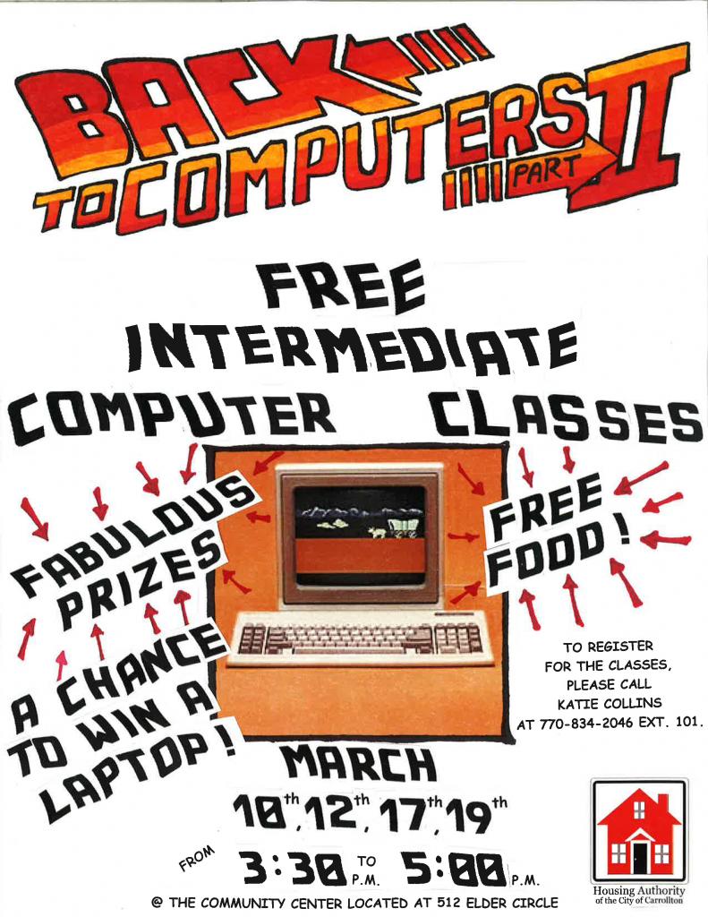 Computer Class Flyer 2-18-15