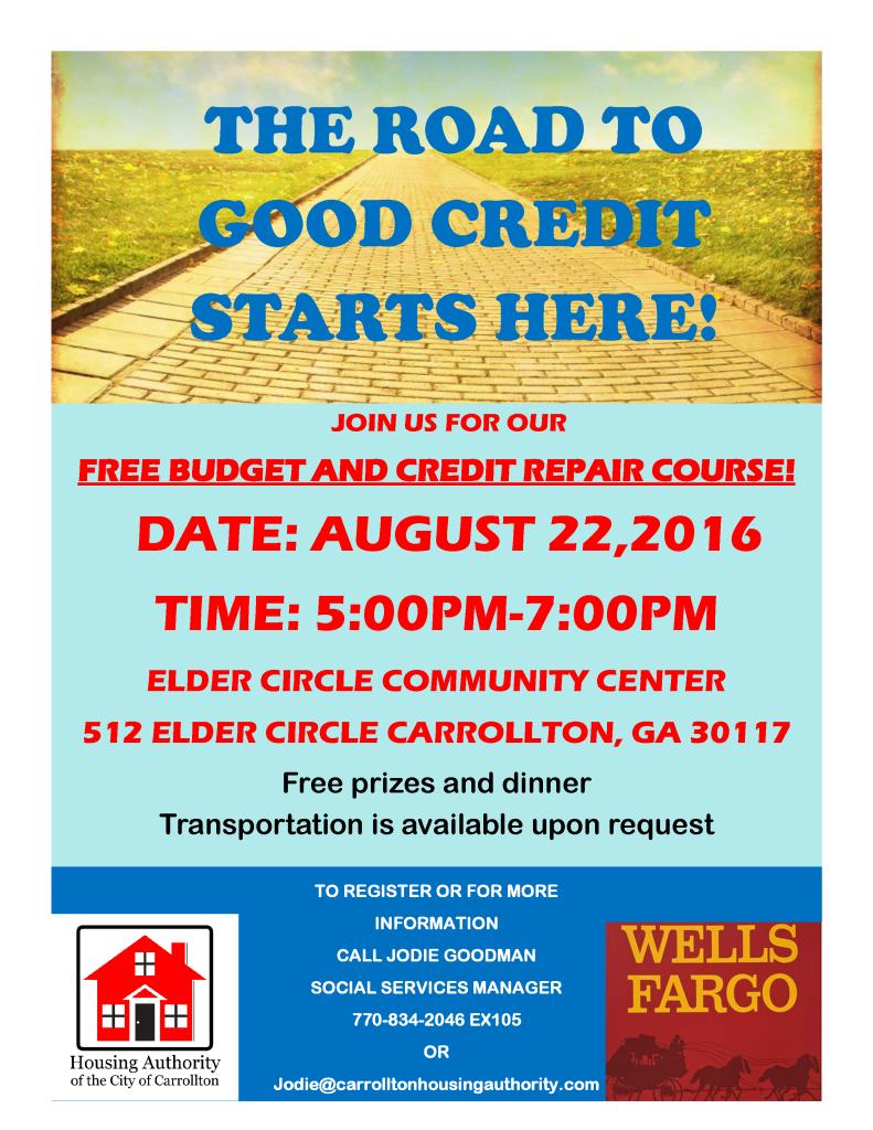 Credit Repair August 2016
