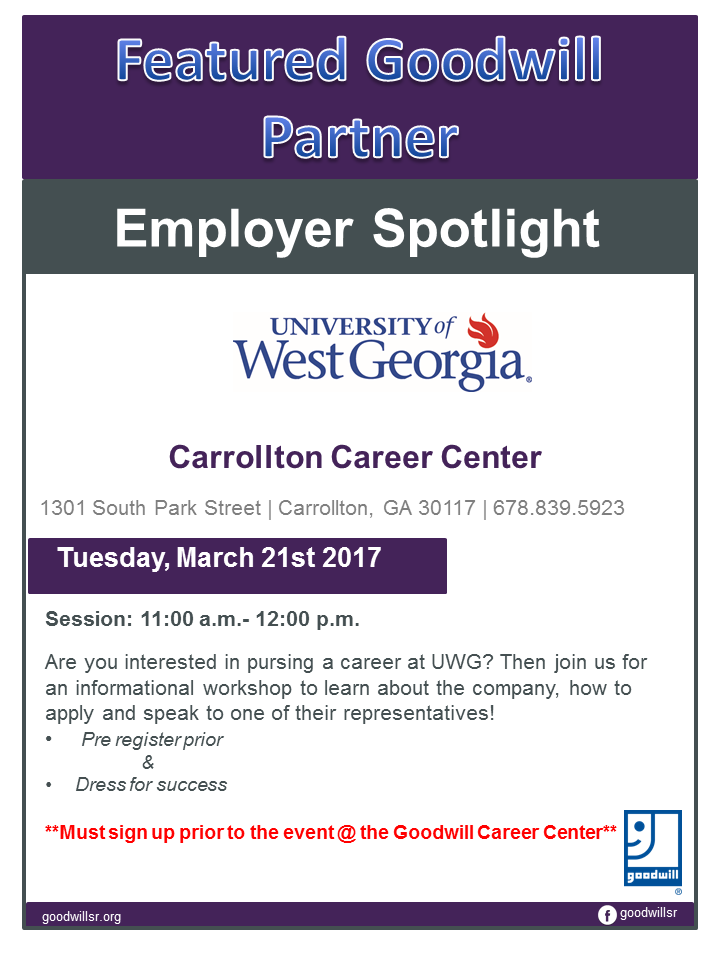 Employer - spot light UWG17