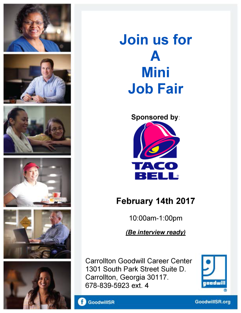 Job Fair Flyer TB 2-14-17