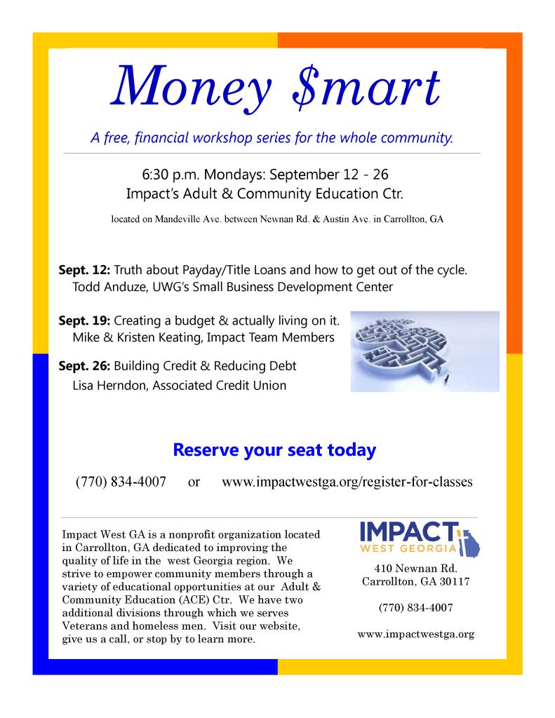 Money Smart flyer