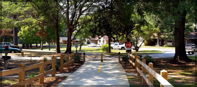 A View of Elder Circle from The Green Belt