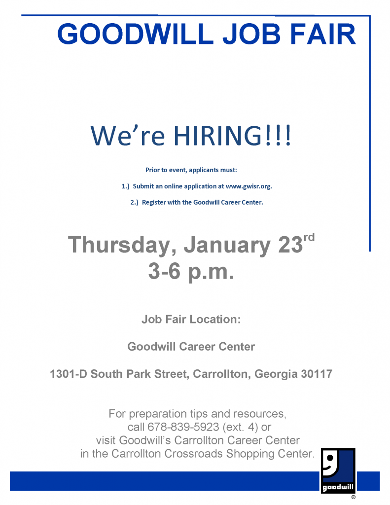 Recruitment-Fair-Flyer-GOODWILL