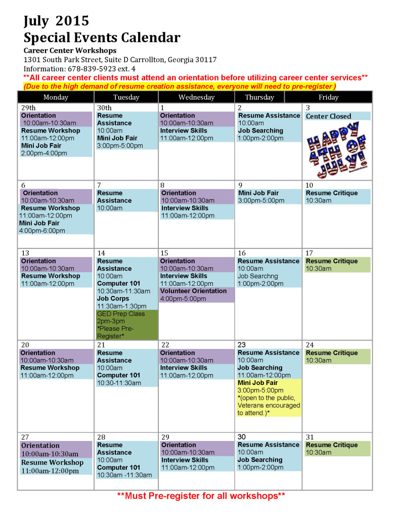 Special Events Calendar -july2015_Page_1