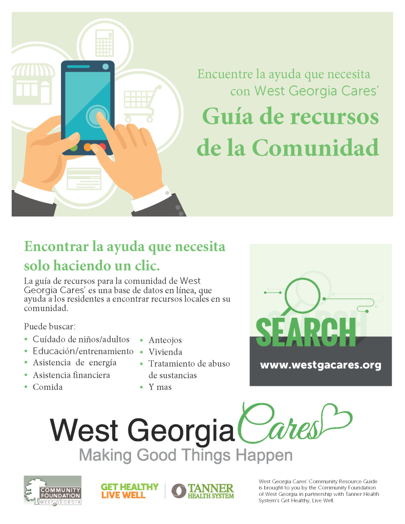 WGC CommunityResoureGuideFlyer-SPANISH