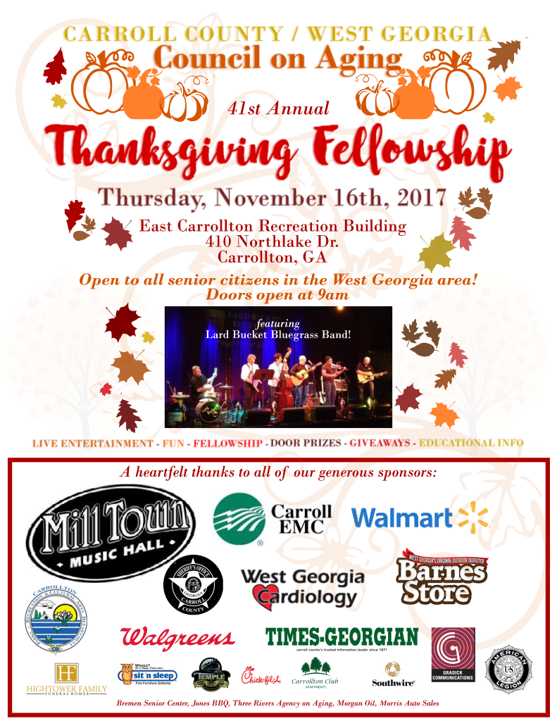 flyer for council thanksgivingletter