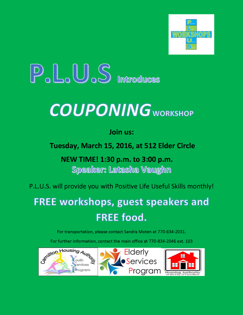 march plus workshop flyer