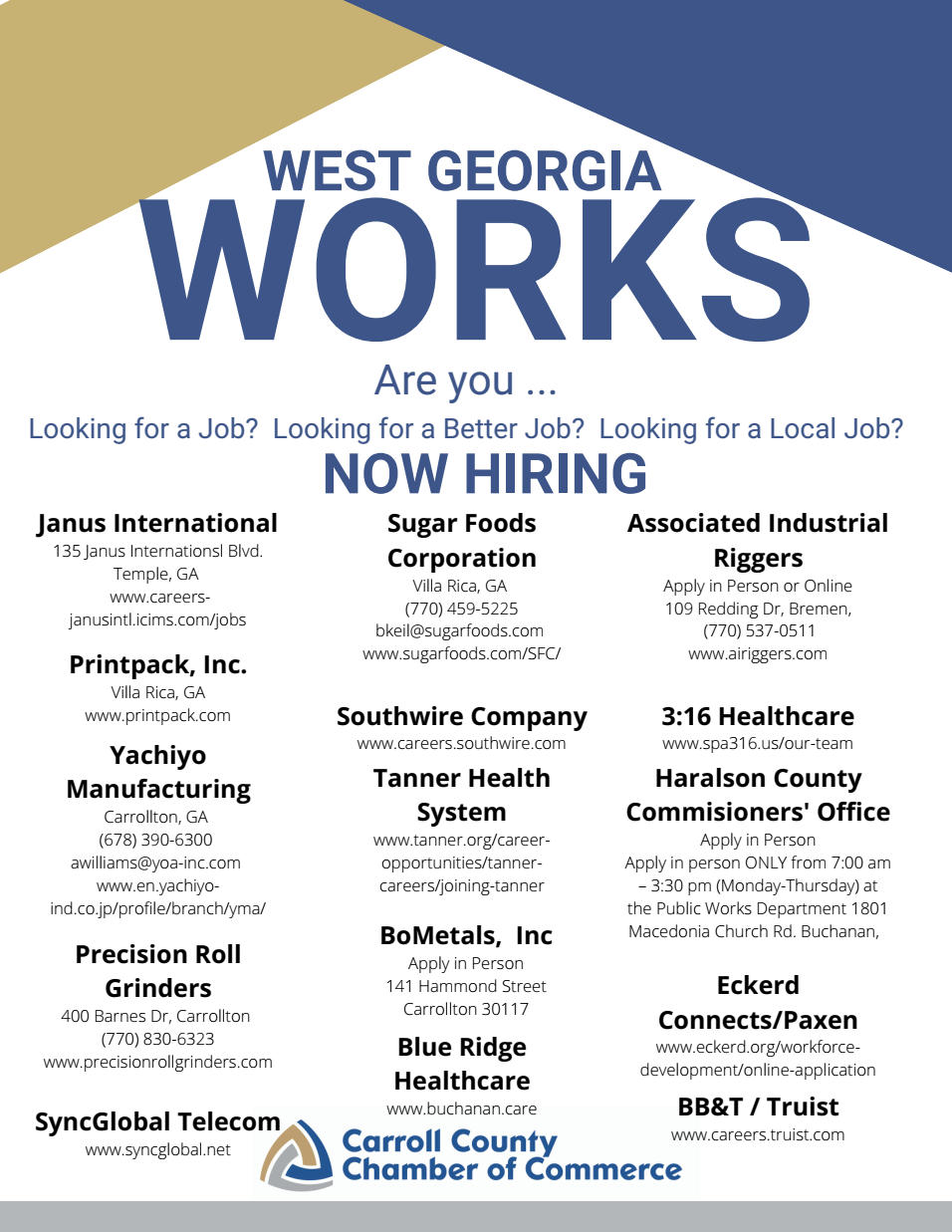 West Georgia Works