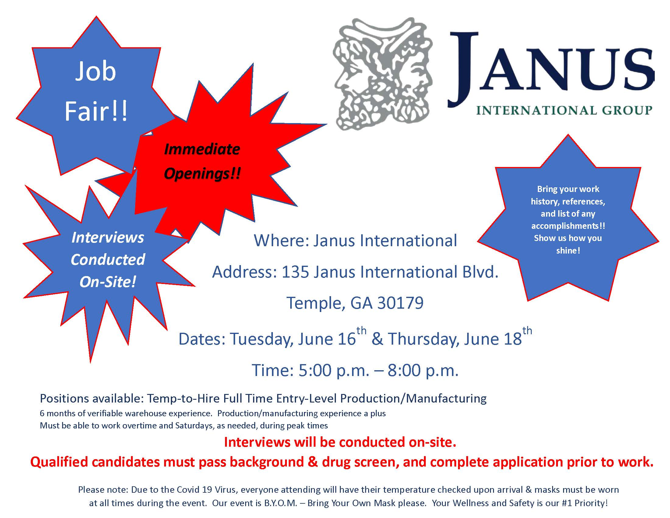 Janus Job Fair