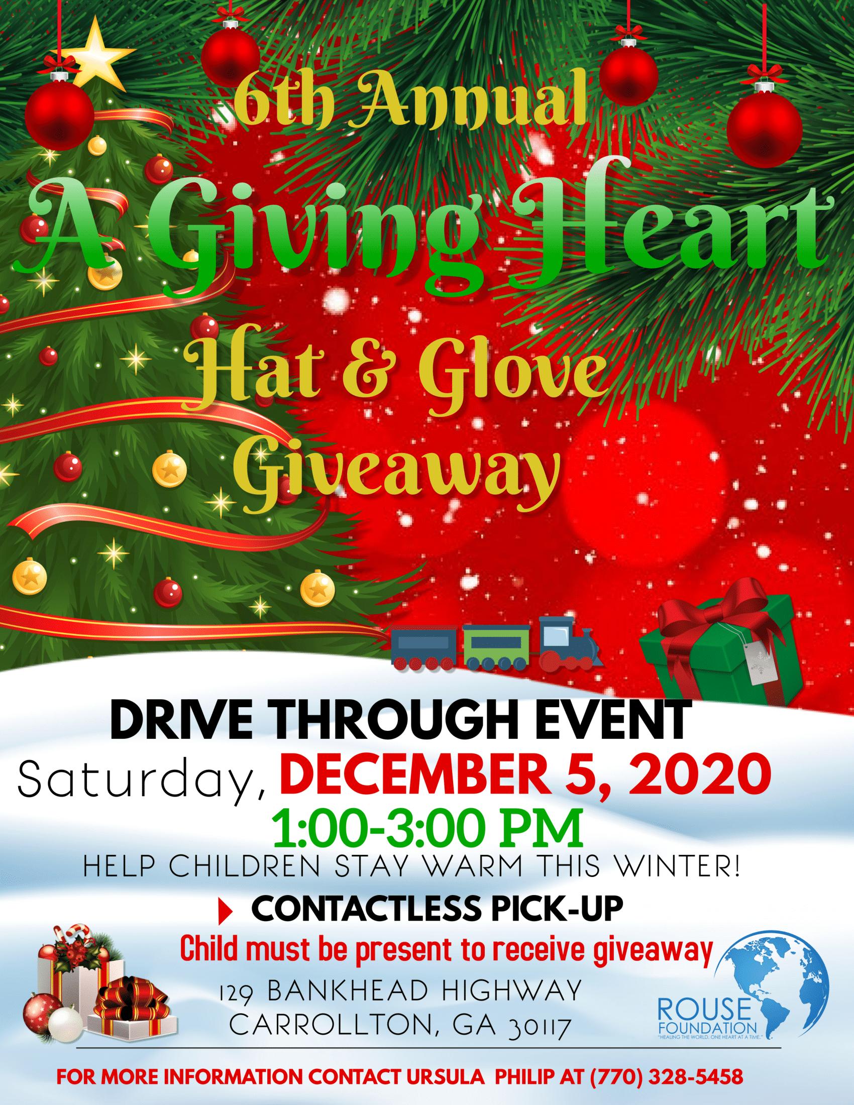 6th Annual A Giving Heart