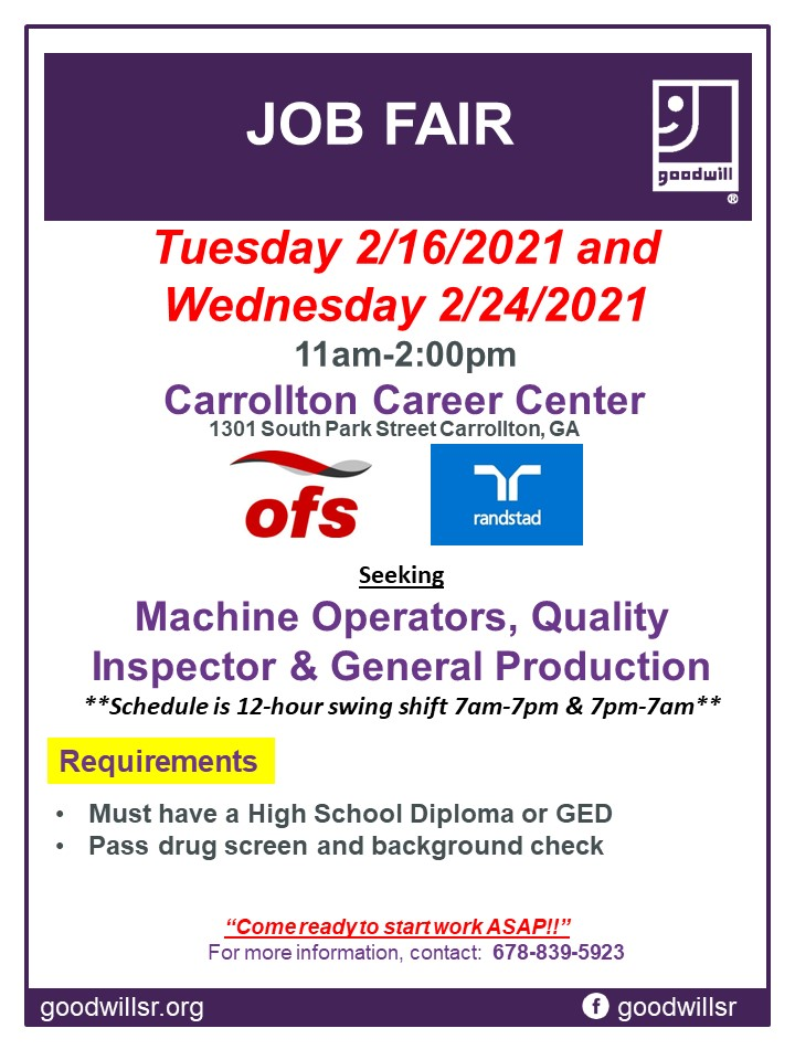 OFS Job Fair