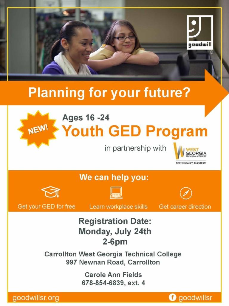 Carrollton -GED Youth Program