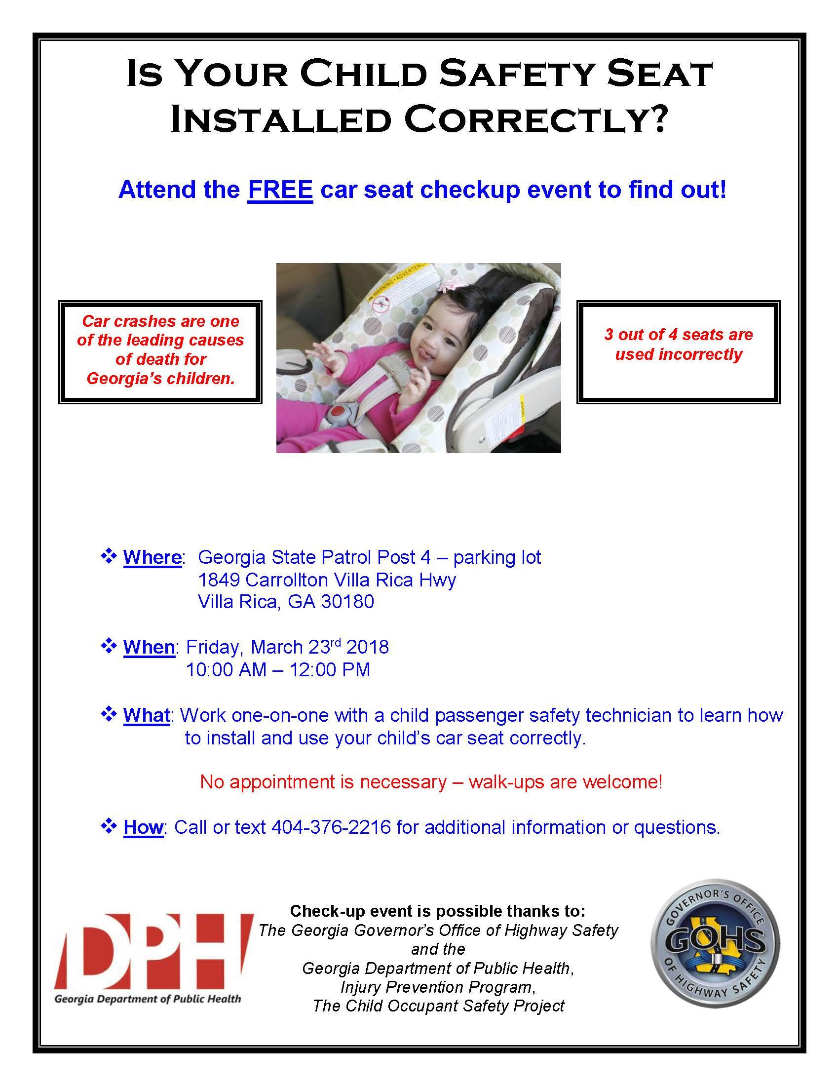 programs for free car seats