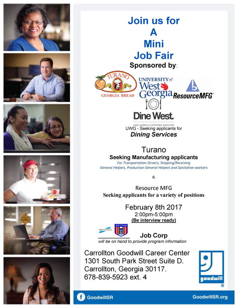 Job Fair Flyer fo UWG Dine west -TB 2-8-17