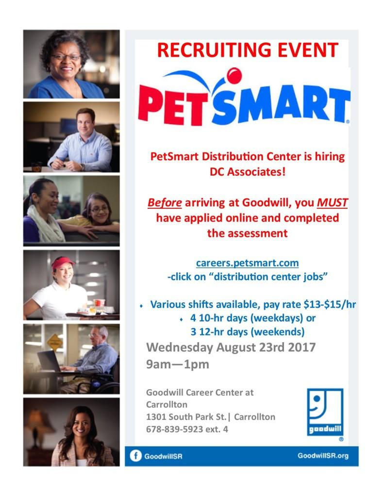 PetSmart Recruiting Event 817