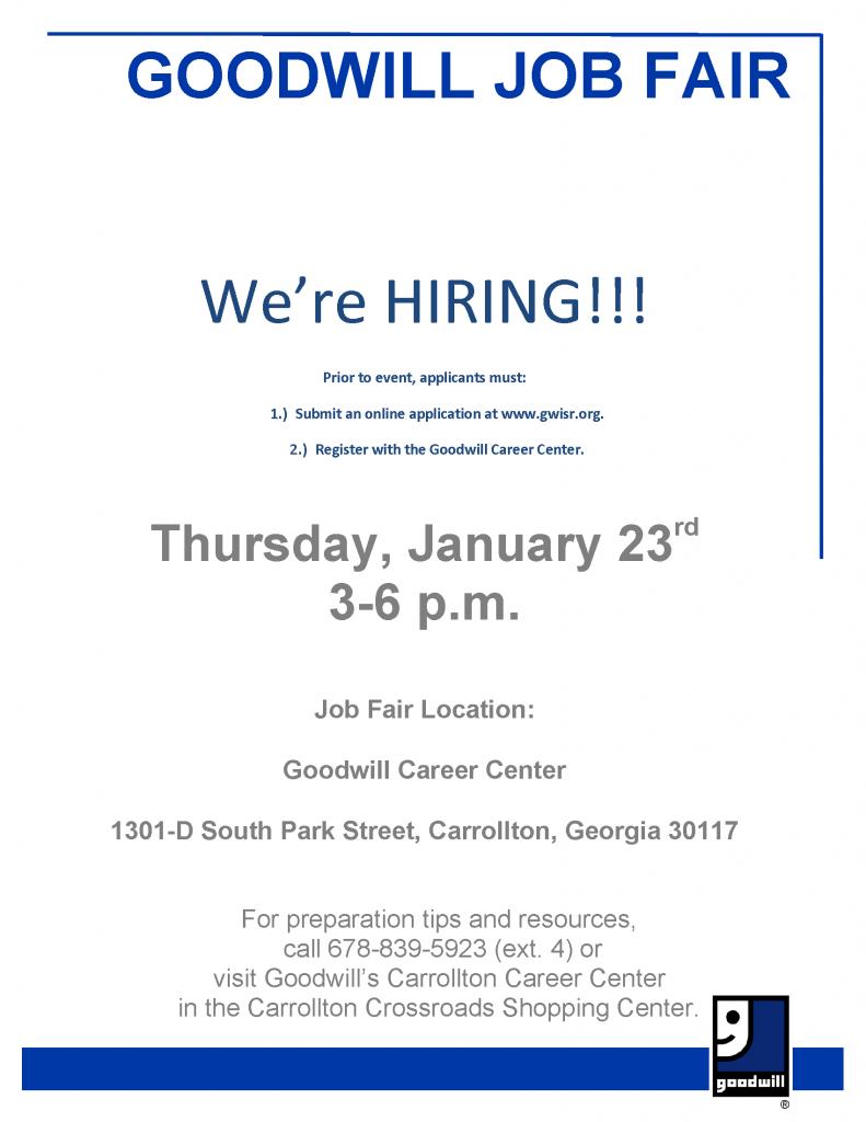 Recruitment-Fair-Flyer-GOODWILL