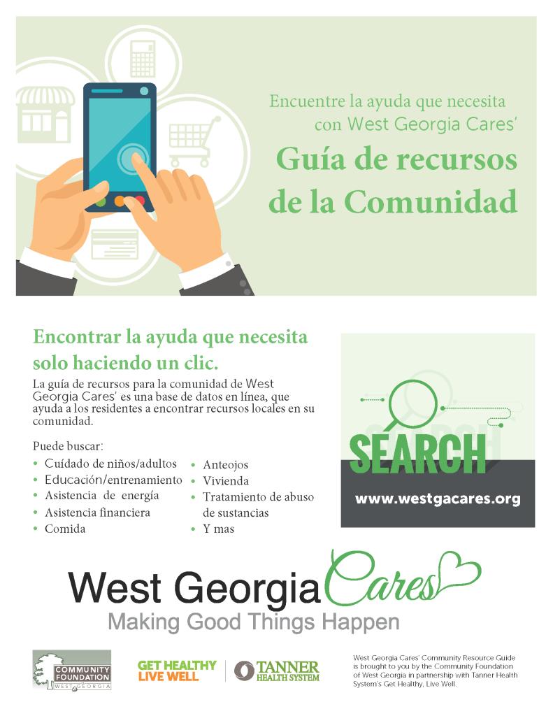 WGC CommunityResoureGuideFlyer-SPANISH