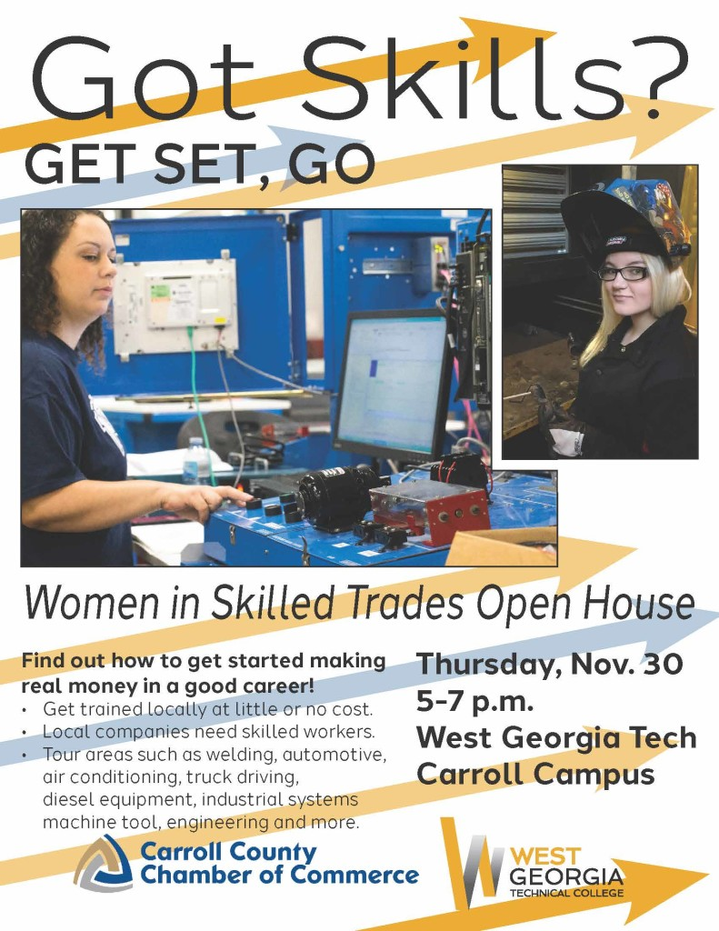 Women in Skilled Trades flyer 17
