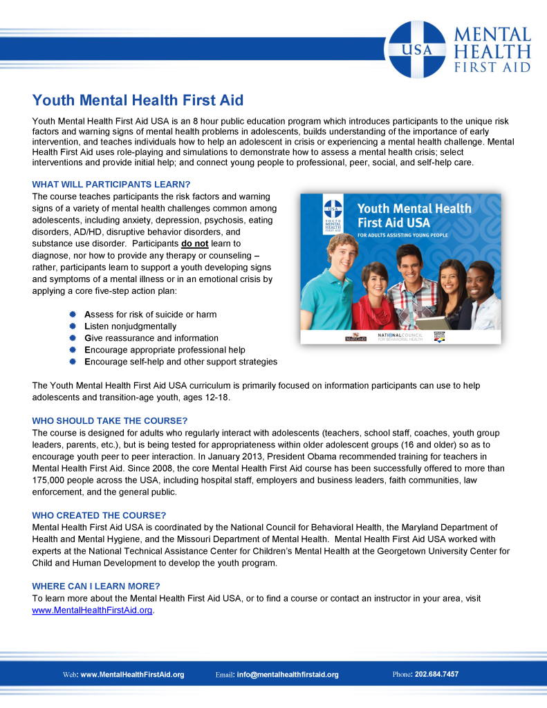Youth-Mental-Health-First-Aid-Overview